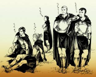 The Soldiers of Cadmus by angelajordan