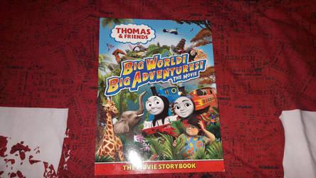 Got the Big World! Big Adventures! Movie Storybook by Jonathan-Asiamah