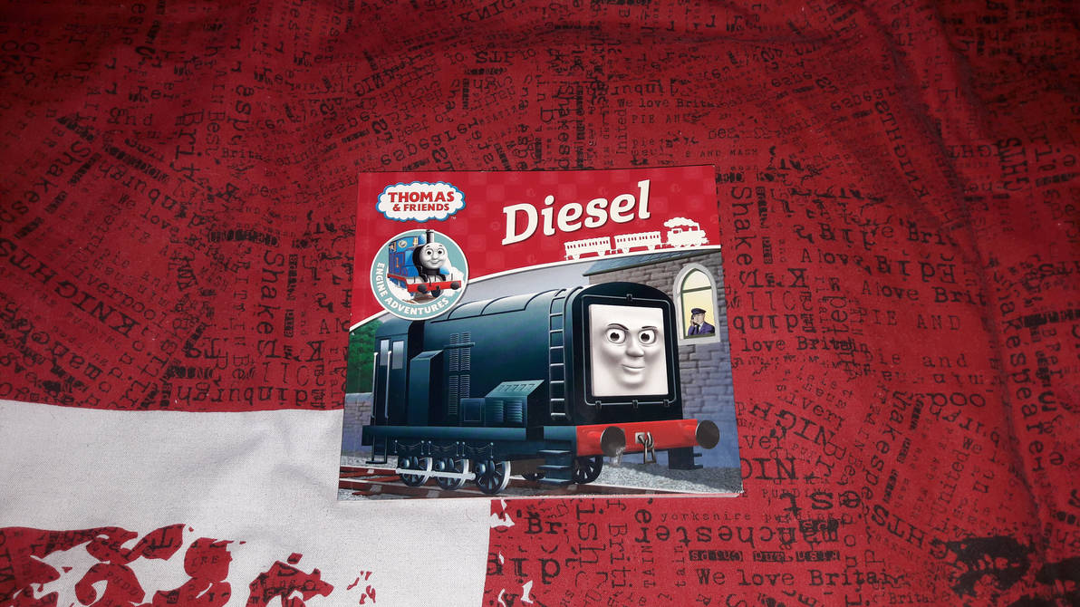 Got the Engine Adventures: Diesel Book by Jonathan-Asiamah