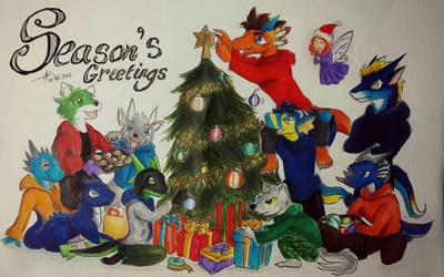 Season's Greetings by CrazyDragon2000