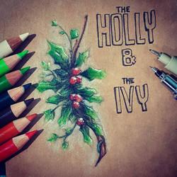 Holly  Ivy by CrazyDragon2000