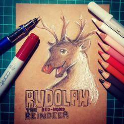 Rudolph  by CrazyDragon2000