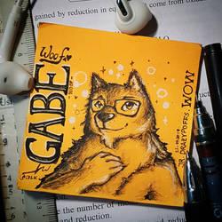 Gabe is Good Boy by CrazyDragon2000