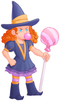 Candy witch in full color by kineko
