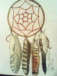 Dreamcatcher for a friend.. by BlackPaws