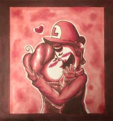 Valentine Kiss by DrGengar