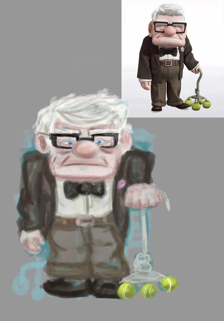 Old Man Carl by DrGengar