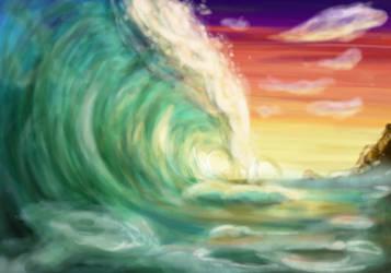 Wave of the Ocean by DrGengar