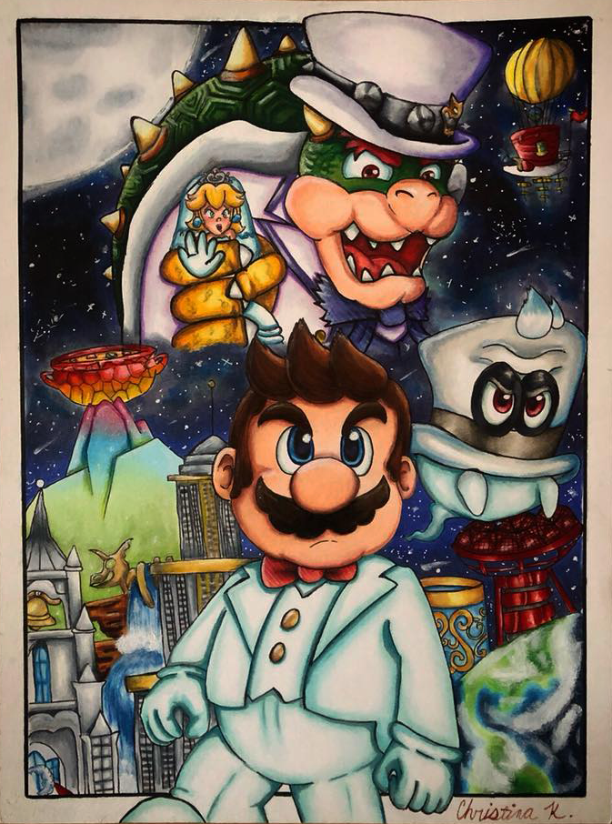 Super Mario Odyssey by DrGengar