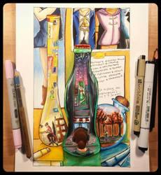World in a Bottle by DrGengar