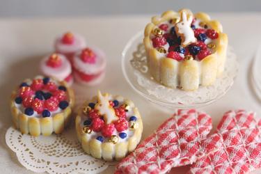 Miniature Charlotte Cakes by MyPetiteCakes