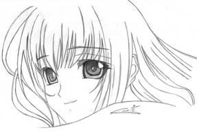 Manga girl by Costa85