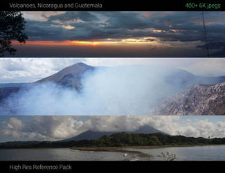 Volcanoes reference pack by jonathanguzi