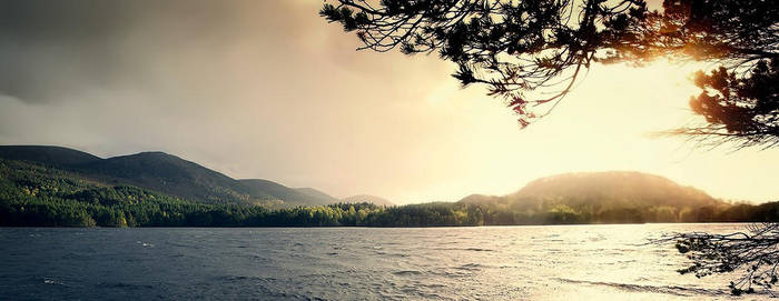 Loch Eilean by Burning-Liquid