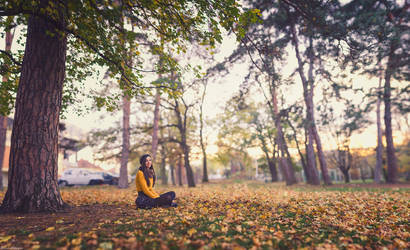 Relax in the park by andreimogan