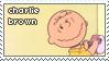 charlie brown stamp by blundig