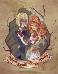 Zombies wedding by YonYonYon
