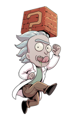 Tiny Rick by RNZZZ