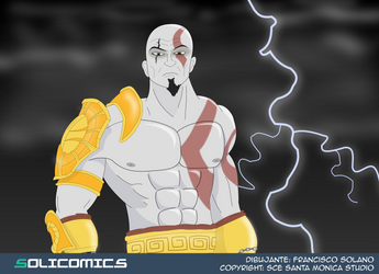 Kratos by Solicomics