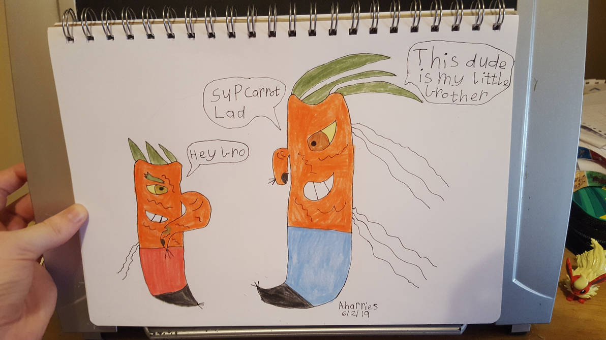 Carrot Lad by SophieSharkley