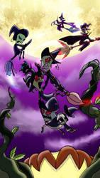A Defective Halloween by LadyAnaconda