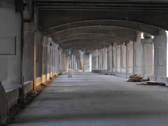 Under the Downtown Bridge by krissybdesignsstock
