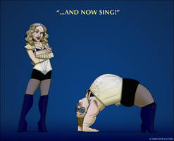 Madonna Cartoon - The Sun 02 by robmmad16