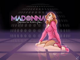 Madonna Cartoon - COADF by robmmad16