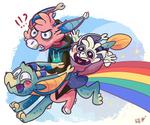 Somewhereeeeeeeee Over the Rainbow by PhuiJL