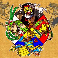 4 brothers in Aztec mythology by nosuku-k