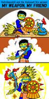MANGA My weapon, my friend by nosuku-k