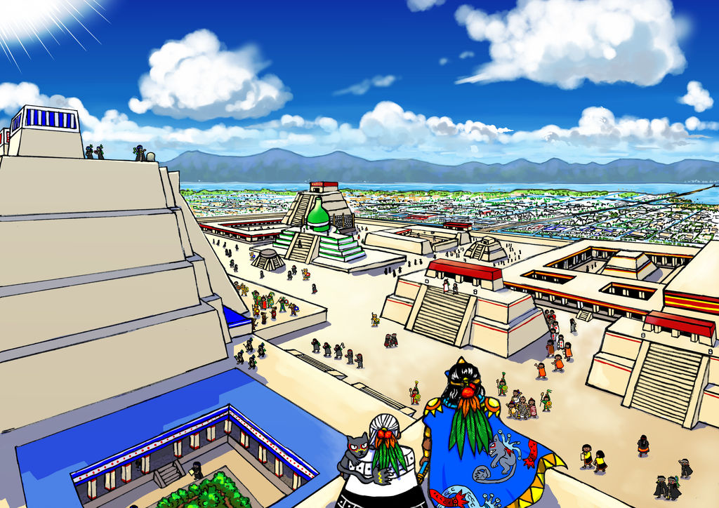 Our Aztec empire by nosuku-k