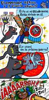 El emperador azteca y el pequeno ahuizotl by nosuku-k