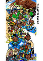 Rulers of Mexico-Tenochtitlan-1 by nosuku-k