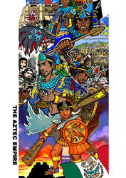 Rulers of Mexico-Tenochtitlan-2 by nosuku-k