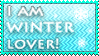 Winter lover stamp by KillerSandy