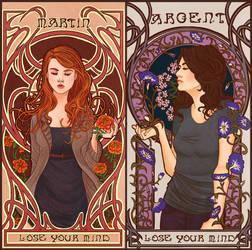 Nouveau Wolf Part 2: Lydia and Allison by Youko-Shirokiba