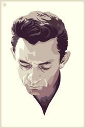 Johnny Cash by monsteroftheid