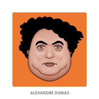Alexandre Dumas by monsteroftheid