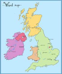 ..:: BRU - World map ::.. by HowlingSpectre
