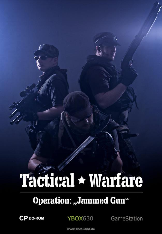 Tactical Warfare by shot-land