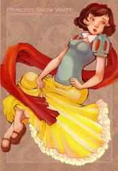 Princess Snow White by kitton