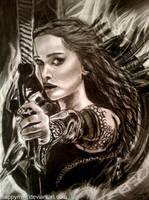 Catching Fire: Katniss Everdeen by happymint