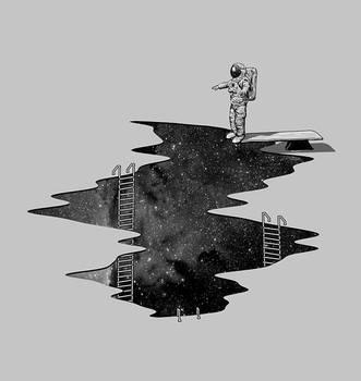 Space Diving by NicebleedArt