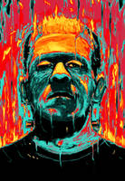 Frankenstein by NicebleedArt