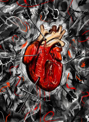 Heart and Arrows by NicebleedArt