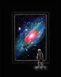 Looking Through a Masterpiece by NicebleedArt