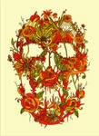 Flora Skull by NicebleedArt