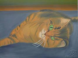 Tiger by CitizenOfZozo-art