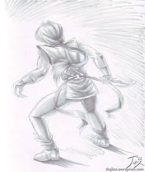 PS - Hawkeye by CitizenOfZozo-art